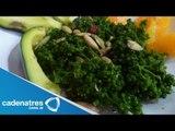 Ensalada de huazontles / Receta de ensaladas / Receta de ensaladas de huazontles