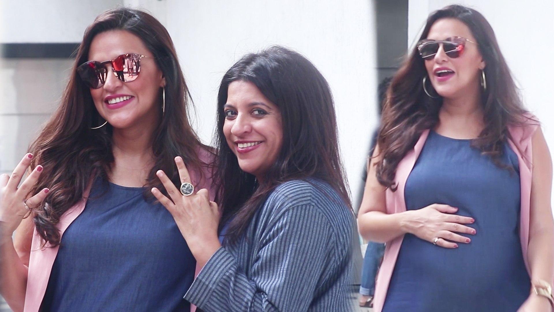 Neha Dhupia And Zoya Akhtar Shoot For No Filter Neha Season 3
