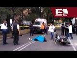 Muere policía capitalino tras ser atropellado en la colonia Del Valle/ Comunidad Yazmin Jalil