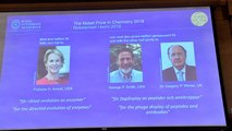 Le Nobel de chimie attribué à un trio de chercheurs