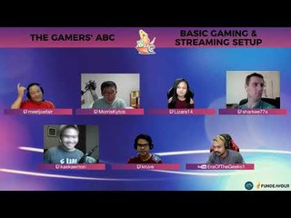 Gamers' ABC Podcast: Basic Gaming and Streaming Setups (Part 2)