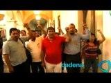 Sección 22 entrega pliego de demandas al gobierno de Oaxaca