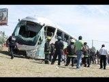 Vuelca autobús de la UNAM // Autobús de la UNAM se queda sin frenos