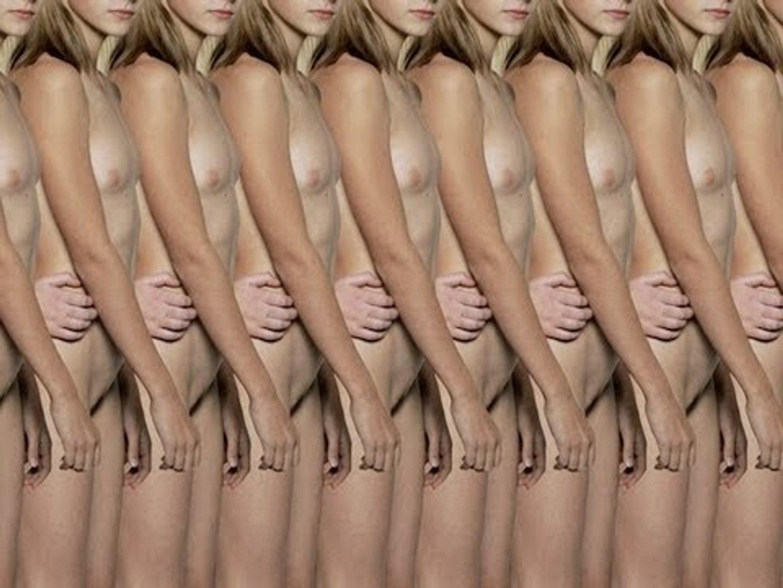 Sorprendente serie de fotografías de patrones humanos sin rostro, realizada por Claudia Rogge