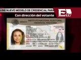 Instituto Nacional Electoral aprobó el nuevo modelo de credencial para votar/ Gloria Contreras