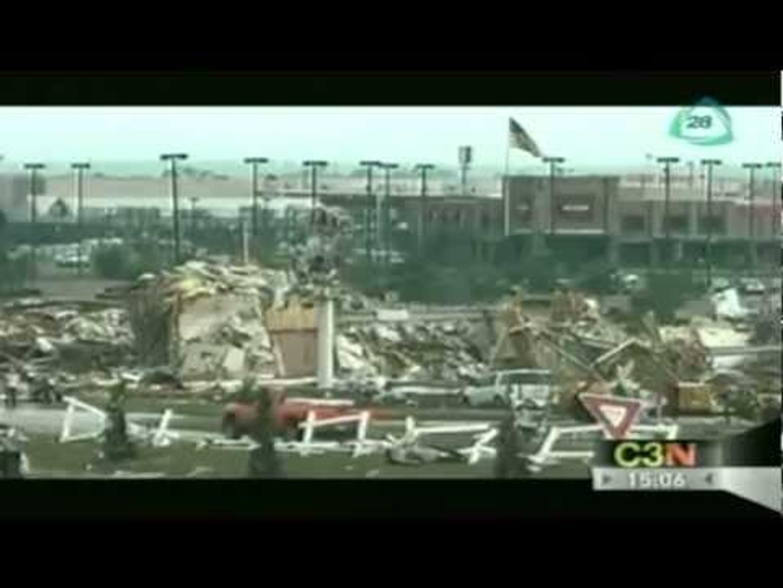 Tornado Oklahoma deja 24 muertos / Tornado Oklahoma 2013 / Whirlwind in Oklahoma 2013