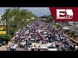 Oaxaca, Marcha de la sección 22 / Excélsior en la media