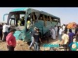 Regresan 14 mexicanos accidentados tras volcadura en Egipto