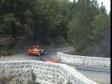Glissades au rallye des vallées 2007