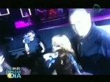 Rihanna golpea a un fan con el micrófono durante su concierto de Birmingham (VIDEO)