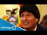 Presidente Evo Morales regresa a Bolivia / President Evo Morales returns to Bolivia