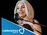 Lady Gaga reaparece en el Gay Pride Rally en NY / Lady Gaga reappears in the Gay Pride Rally in NY
