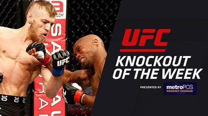 KO of the Week: Conor McGregor vs Marcus Brimage