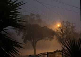 Torrential Rain Follows Dust Storm in Broken Hill, New South Wales