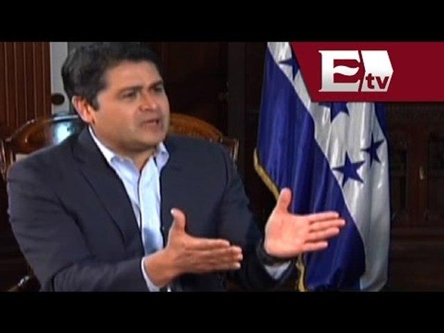 Entrevista a Juan Orlando Hernández, presidente de Honduras (Parte 2)/ Pascal   Godialy.com