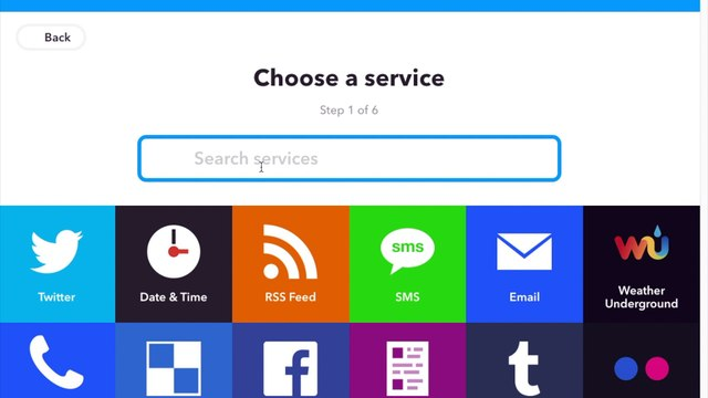 How to IFTTT with dailymotion search