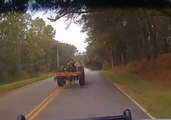Florida Man Tasered After Being Pulled Over on Stolen Tractor