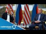 Obama cancela encuentro con Putin en Rusia / Obama cancels meeting with Putin in Russia