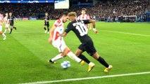 Paris Saint-Germain - Red Star Belgrade: Neymar Jr skills