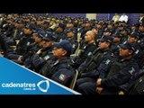 Realizan exámenes de confianza a 700 policías de Nuevo León (VIDEO)