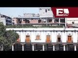 Riesgo en construcción sobre Portales en Plaza Santo Domingo / Comunidad, resumen de la semana