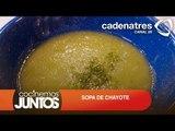 ¿Cómo preparar sopa de chayote? / How to prepare chayote soup?