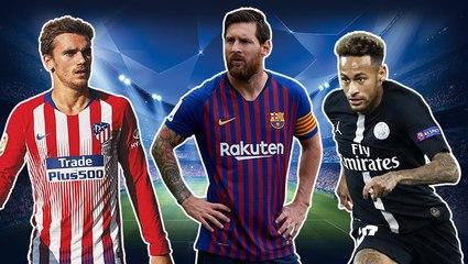 Champions League-Topelf des 2. Spieltags