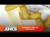 PESCADO AL ORLY DE CACAHUATE ¿Cómo preparar pescado al orly de cacahuate?