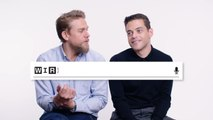 Rami Malek & Charlie Hunnam Answer the Web's Most Searched Questions