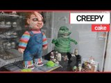 Life-Size Chucky Doll CAKE in Bakery!   SWNS TV