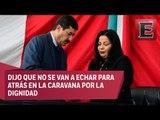 Javier Corral insiste en la extradición de César Duarte en su Primer Informe de Gobierno