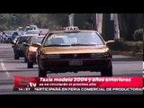 Taxis modelo 2004 y años anteriores ya no circularán el próximo año / Titulares
