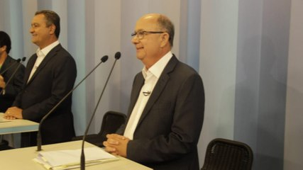 O debate dos candidatos a governador na TV Bahia