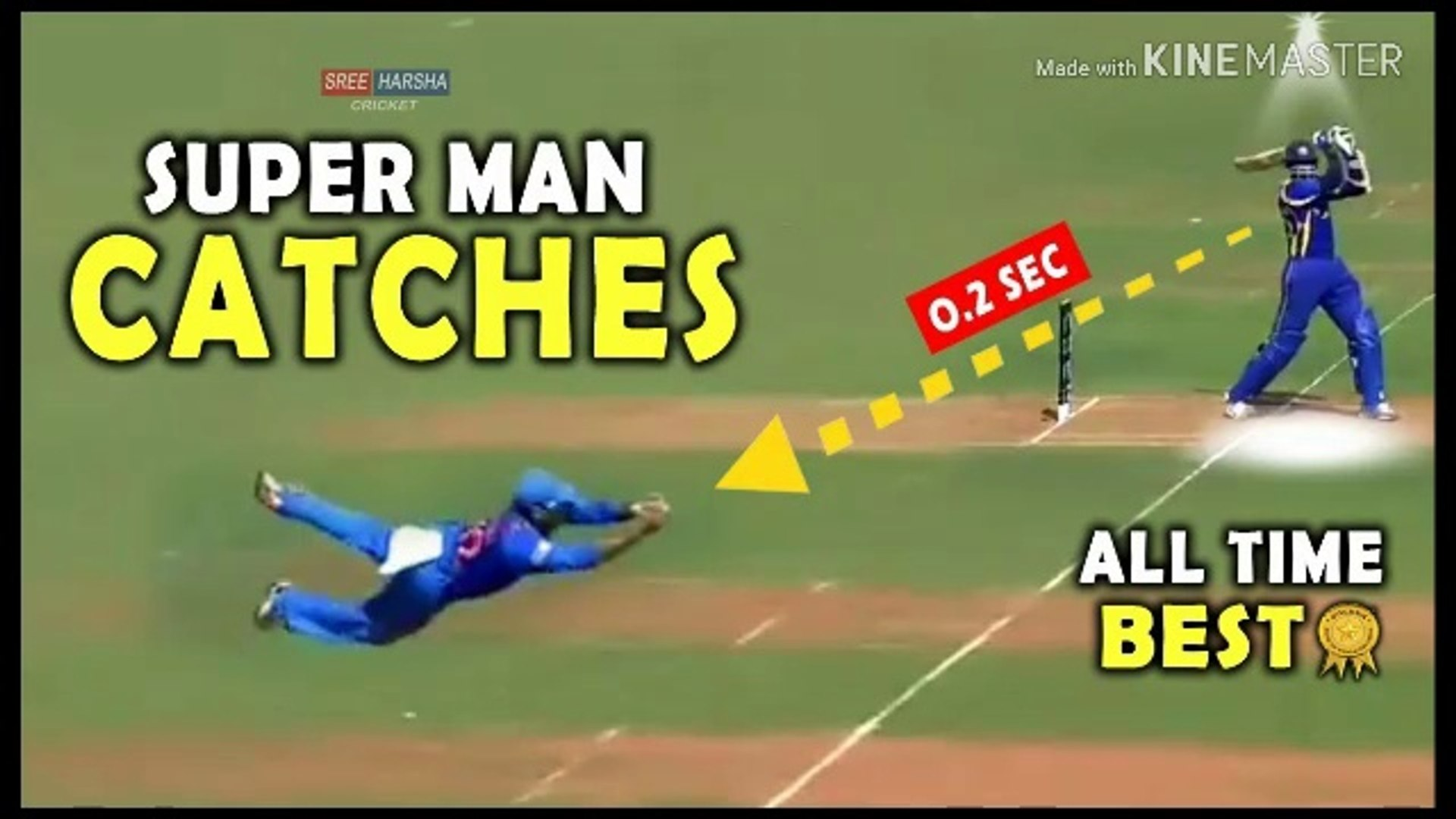 Superman Catches  Top 10 Best Catches in Cricket History Of All Time