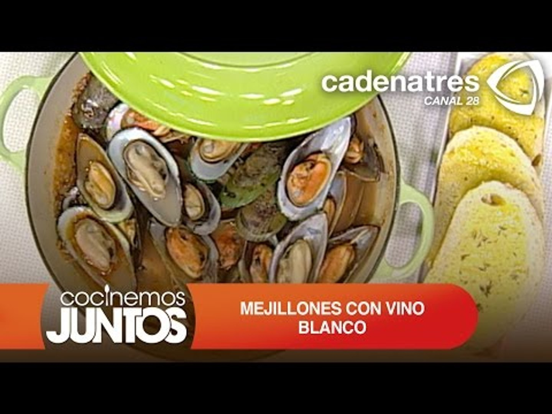 Mejillones con vino blanco / Receta mejillones al vino blanco