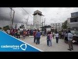 Se registra riña en penal de Cancún / heridos por riña en penal de Cancún