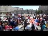 Chilenos se manifiestan contra reformas educativas / Excélsior en la media con Alejandro Ocaña