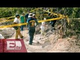 Identifican otros cuatro cuerpos en fosas clandestinas de Iguala / Paola Virrueta