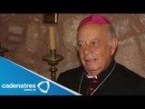 Arzobispo de Morelia condena que el crimen organizado realice delitos en nombre de Dios