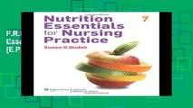 F.R.E.E [D.O.W.N.L.O.A.D] Nutrition Essentials for Nursing Practice [E.P.U.B]