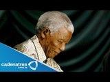 Muere Nelson Mandela / Muere Nelson Mandela expresidente  de Sudáfrica /  Nelson Mandela dies