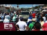 Campesinos bloquean la Autopista del Sol por cuatro horas / Vianey Esquinca