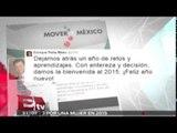 Desea Peña Nieto prosperidad y paz para las familias mexicanas en 2015 / Todo México