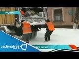 Rusos se divierten en la nieve (VIDEO) / Russians having fun in the snow