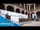 Autodefensas y Segob coinciden en restablecer Estado de Derecho /Autodefensas en Michoacán