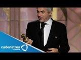 Así se vivió la alfombra roja de los Golden Globes / Alfonso Cuarón ganador de  Golden Globes