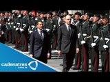 México e Italia estrechan lazos bilaterales; Peña Nieto y Letta firman acuerdos empresariales