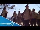 Autoridades piden a grupos de autodefensa entregar sus armas / Autodefensas en Michoacán