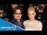 Johnny Depp entrega anillo de compromiso a Amber Heard /Johnny Depp delivers engagement ring