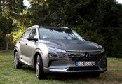 Essai en exclusivité de la voiture à hydrogène de Hyundai